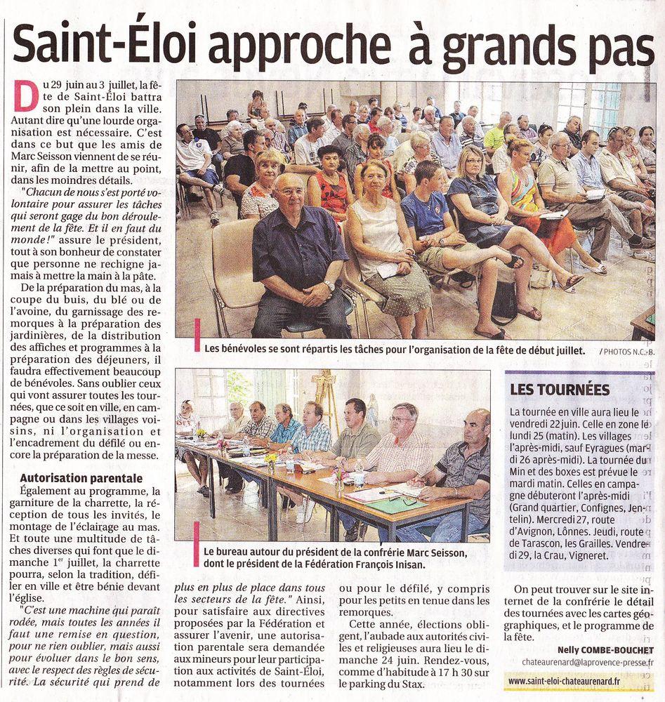 La Provence - 16 Juin 2012