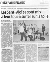 La Provence - 22 août 2009