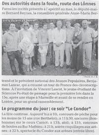 La Provence - 6 Juillet 2009