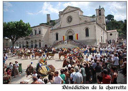 Saint-Eloi Châteaurenard - Bénédiction de la charrette