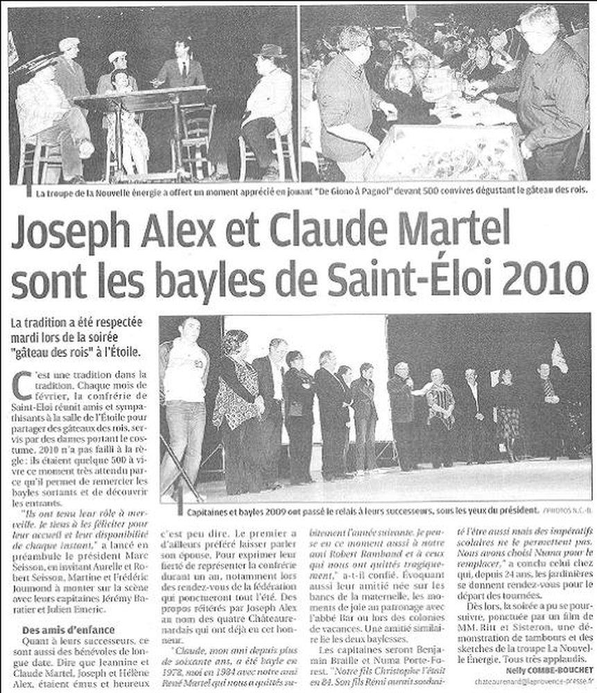 La Provence - lundi 15 février 2010